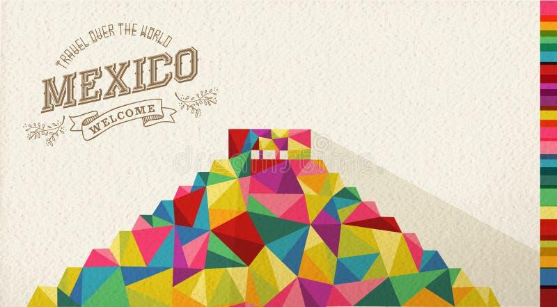 Podróży Meksyk punktu zwrotnego poligonalny zabytek
