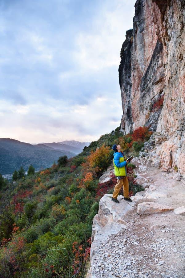 Podróży miejsce przeznaczenia, odkrywa Europa Rockowego pięcia region, Spai obrazy stock