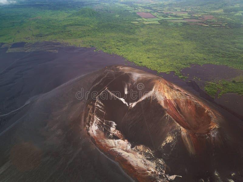Podróży miejsce przeznaczenia w Nikaragua obraz royalty free