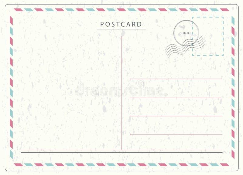 Podróży pocztówki wektor ilustracja wektor