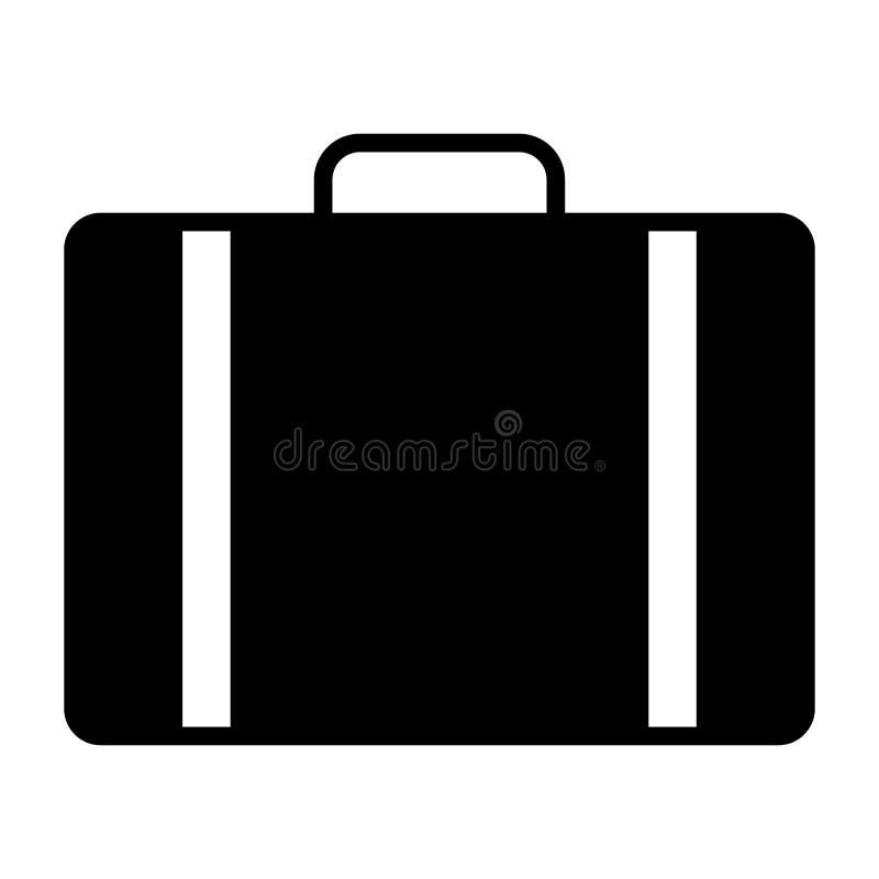 Podróży torby ikona Wektorowy Prosty Minimalny 96x96 piktogram ilustracji
