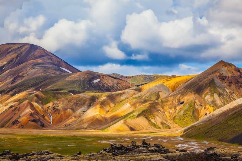 Podr?? Iceland w Lipu zdjęcie stock