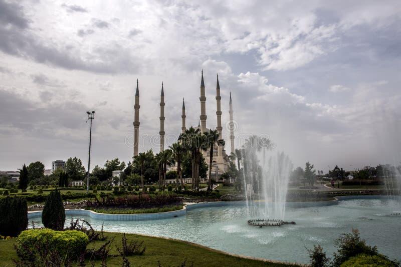 Podr??y poj?cia fotografia; Turcja, Adana centrali meczet/, Adana Sabanci zdjęcie royalty free