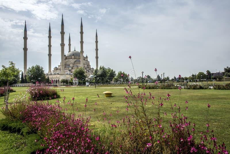 Podr??y poj?cia fotografia; Turcja, Adana centrali meczet/, Adana Sabanci fotografia stock