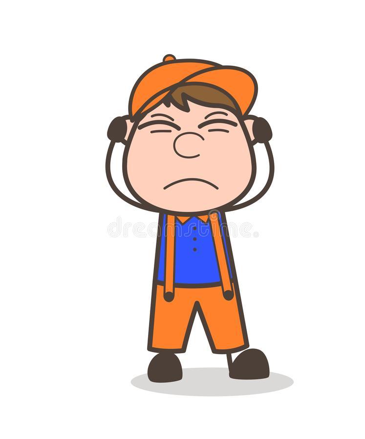 Podrażnionej chłopiec twarzy Wyrażeniowa Wektorowa ilustracja ilustracji