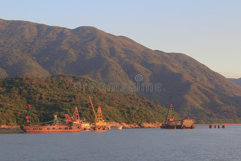 Podrabiany Shek Tsuen 24 Hong Aug 2014 kong fotografia stock