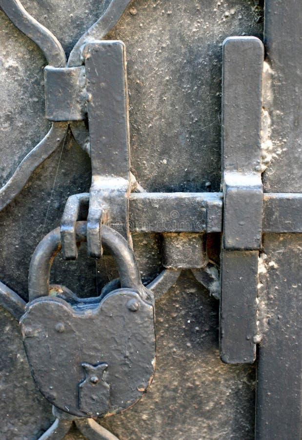 podrobiłem zamek żelaza zdjęcia royalty free