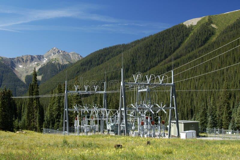podstacja energetyczna zdjęcia royalty free
