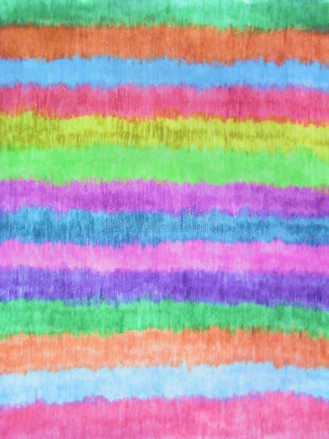 podstawowe kolorów tęczy pastelowa konsystencja v fotografia stock