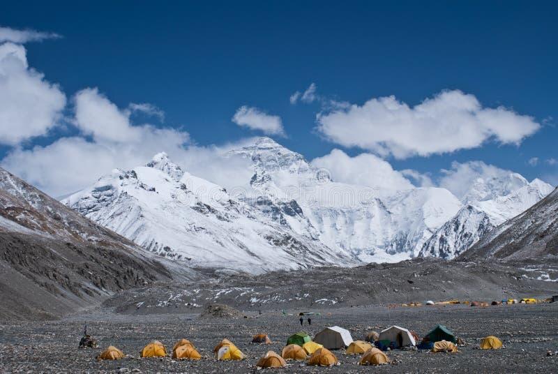 podstawowego obozu Everest góra obraz royalty free