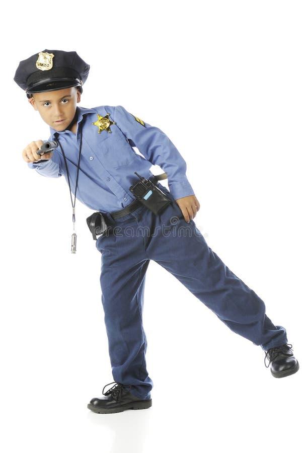 Podstawowy policjanta celowanie fotografia royalty free