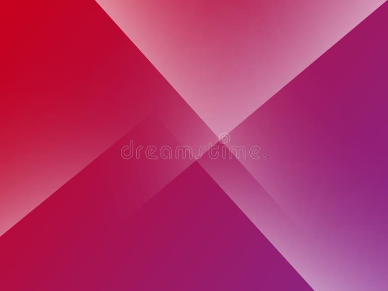 Podstawowy Różowy Minimalny Elegancki Abstrakcjonistyczny Liniowy zagniecenie wzoru tło ilustracji