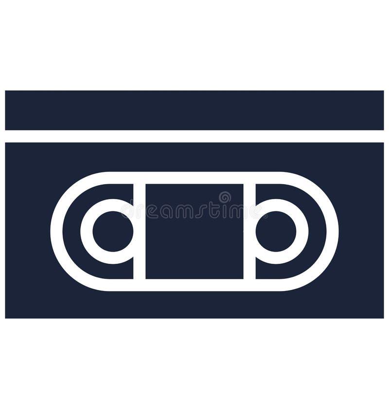 Podstawowy RGB grill Odizolowywał Wektorową ikonę która może łatwo modyfikować lub redagować kasetę Odizolowywał Wektorową ikonę  ilustracja wektor