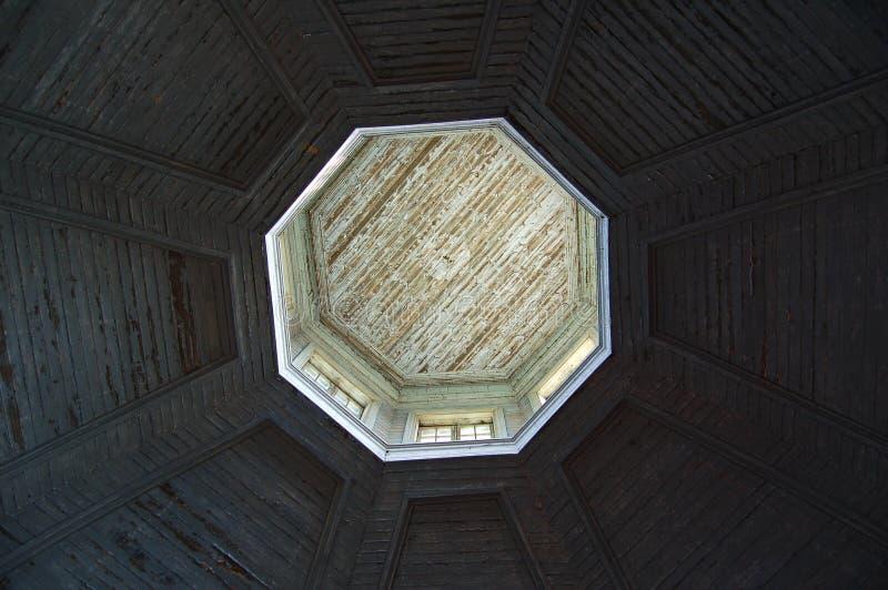 podsufitowa kopuła kościelna zdjęcie royalty free