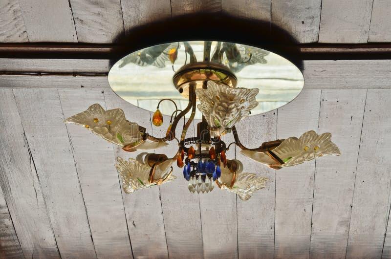 Podsufitowa lampa obraz stock