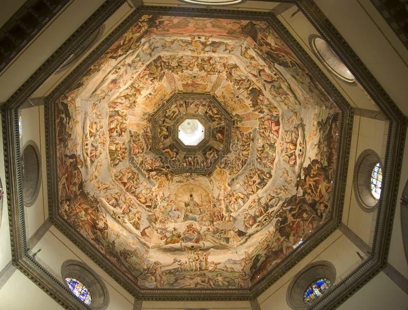 podsufitowy duomo Florence obraz stock
