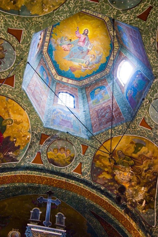 podsufitowy historyczne kościoła obrazy stock