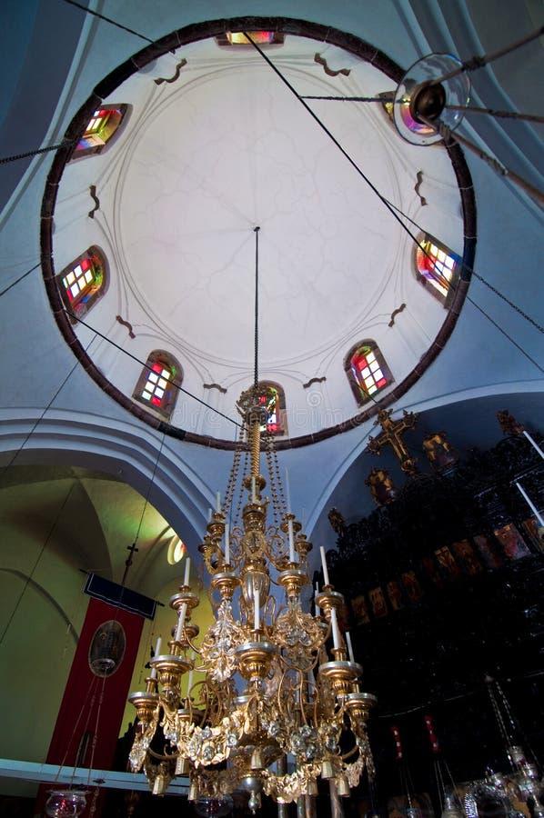 podsufitowy kościół fotografia royalty free