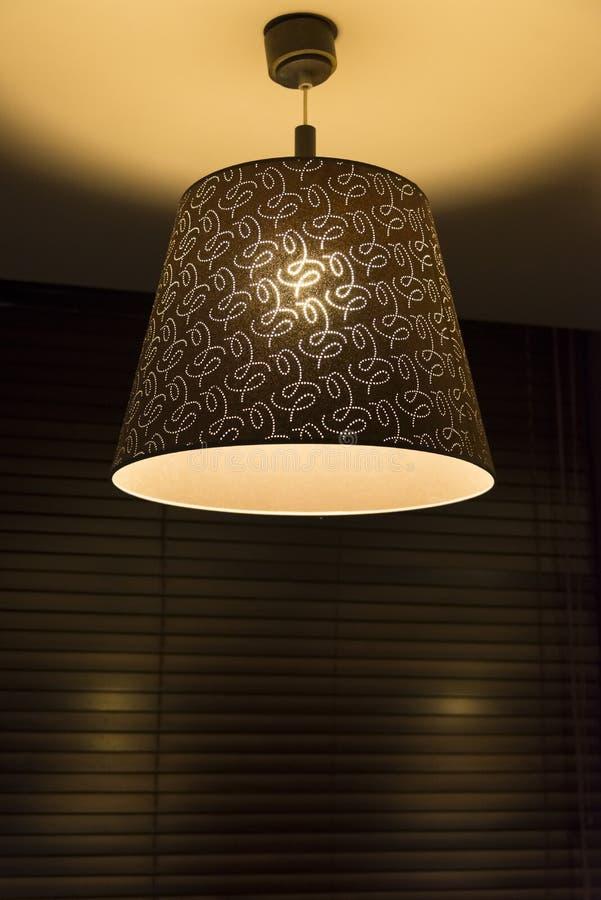 Podsufitowy lampowy obwieszenie zdjęcie royalty free