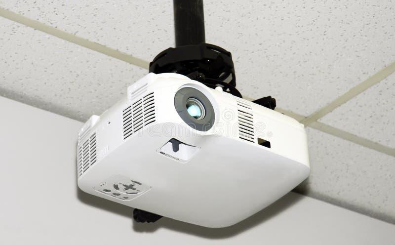 Download Podsufitowy projektor zdjęcie stock. Obraz złożonej z biznes - 21714918