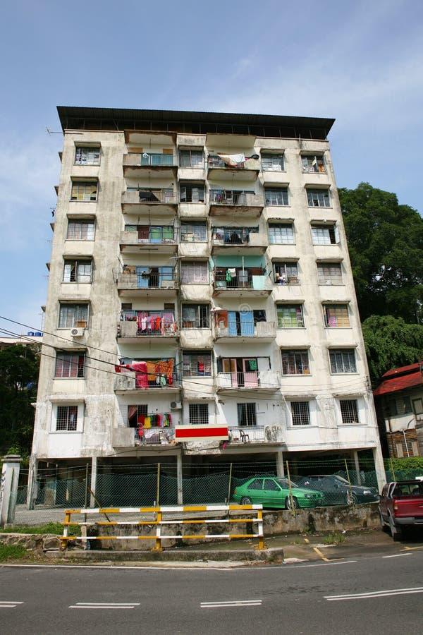 Podsumowanie budynek mieszkalny w Azja Południowo-Wschodnia fotografia royalty free