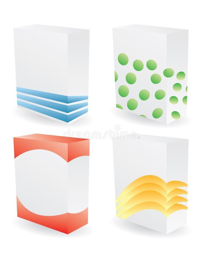 poduct de couleur de cadres illustration stock