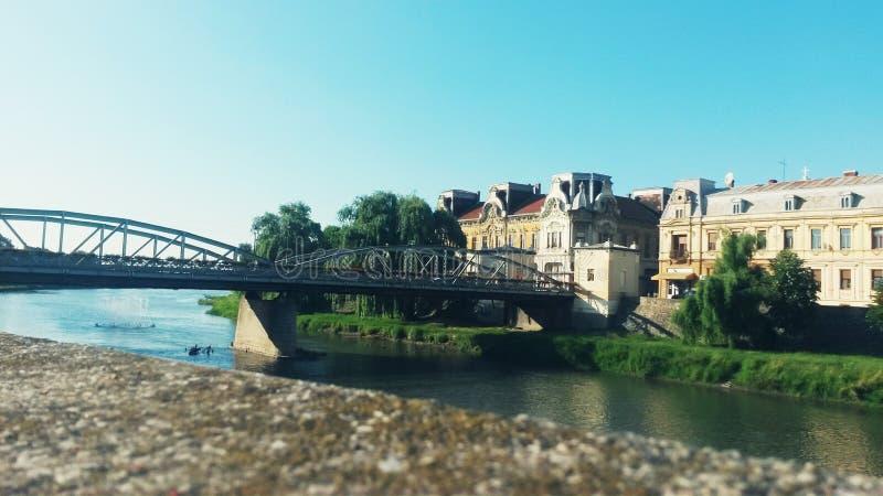 Podul DE Fier - Ijzerbrug royalty-vrije stock afbeelding