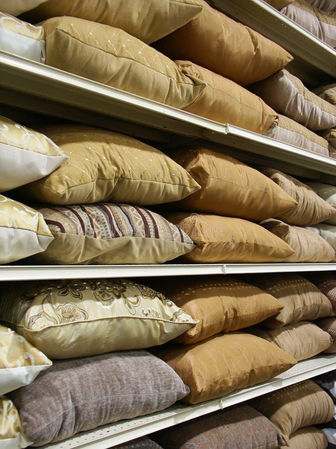 poduszka rzędy obraz stock