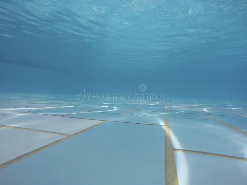 Podwodna basen podłoga zdjęcia stock