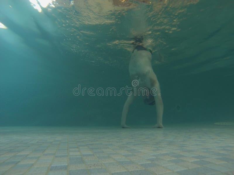 Podwodna zabawa zdjęcie stock