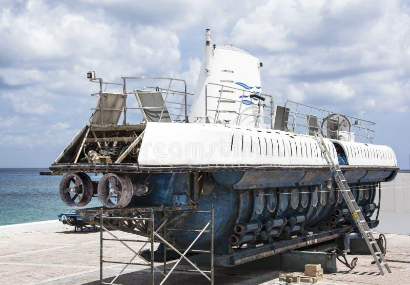 Podwodny dok obraz stock