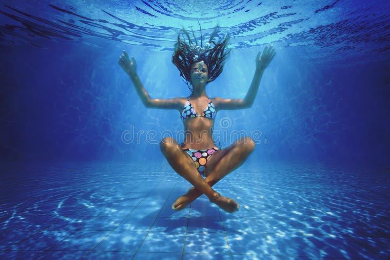 Podwodny krótkopęd zdjęcia royalty free