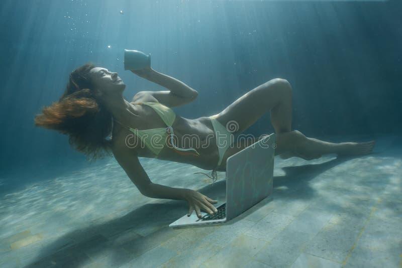 Podwodny krótkopęd zdjęcie royalty free