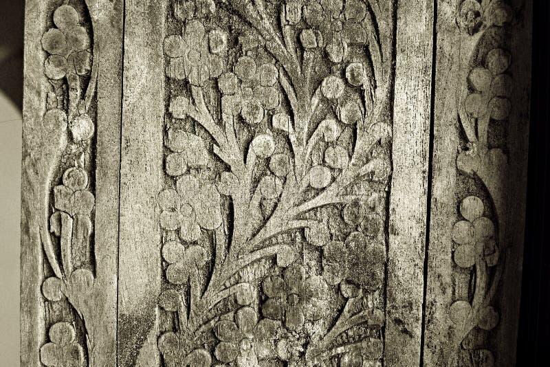 podzielić starego danego drewna fotografia royalty free