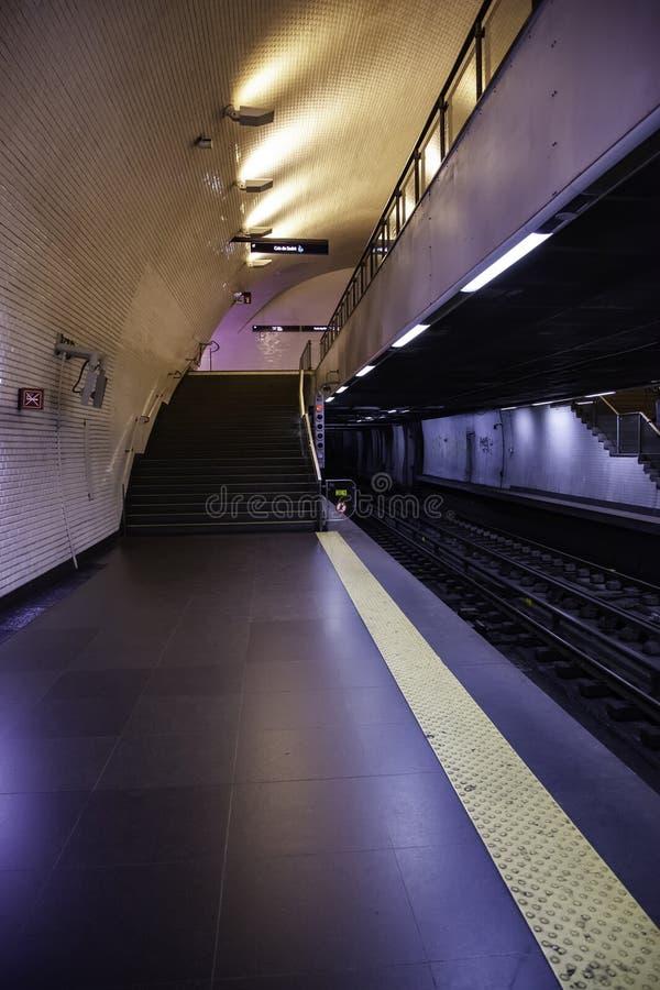 Podziemny London metro fotografia stock