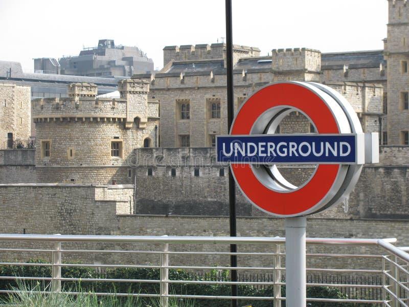Podziemny Londyn obrazy stock