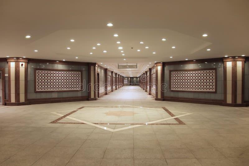 Podziemny metro w centre miasteczko Ashkhabad Turkmenista zdjęcia stock