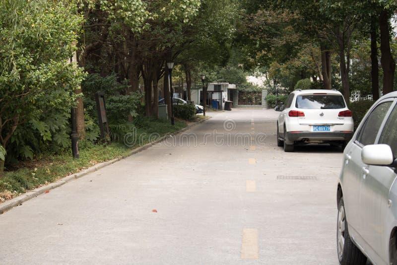 Podziemny parking w Chiny obrazy royalty free