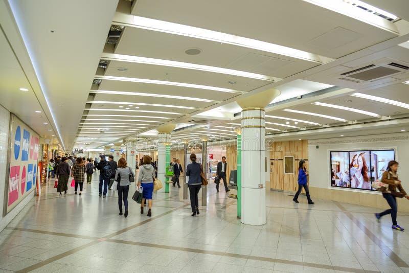 Podziemny Umeda terminal obrazy royalty free