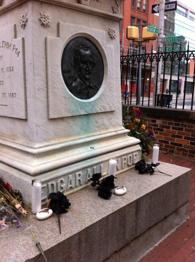 Poe grób zdjęcia stock