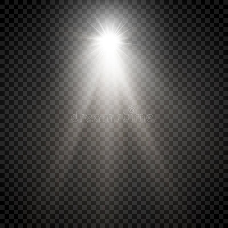 Poeira de estrela, milhares de luzes brilhantes ilustração do vetor
