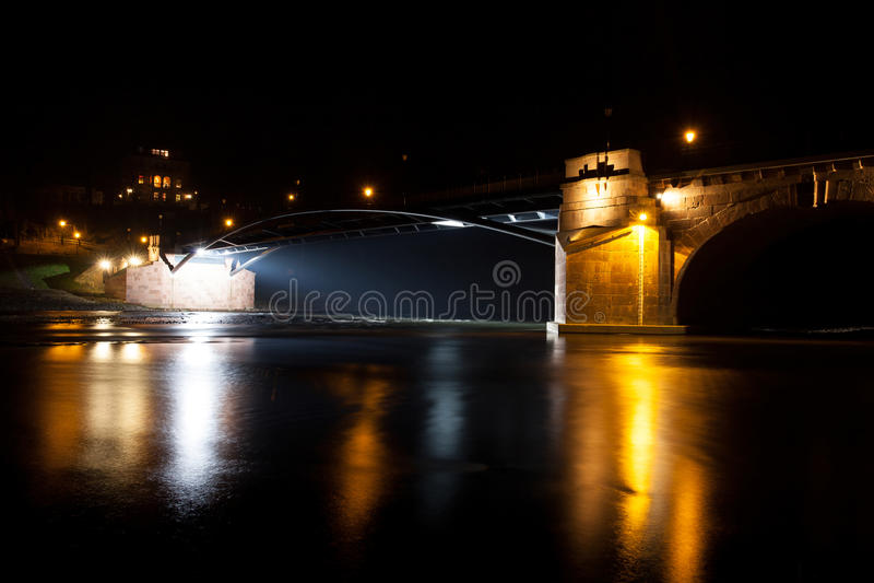 Poeppelmann bro arkivfoto