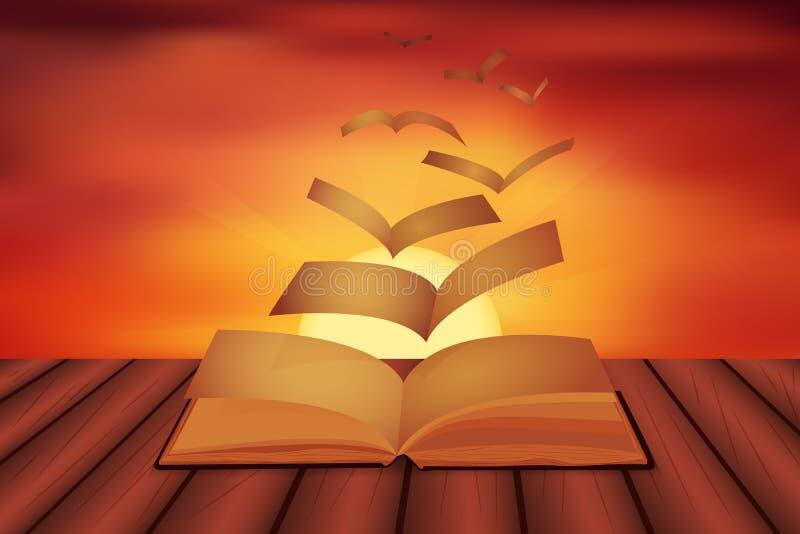 Poesiinspiration stock illustrationer