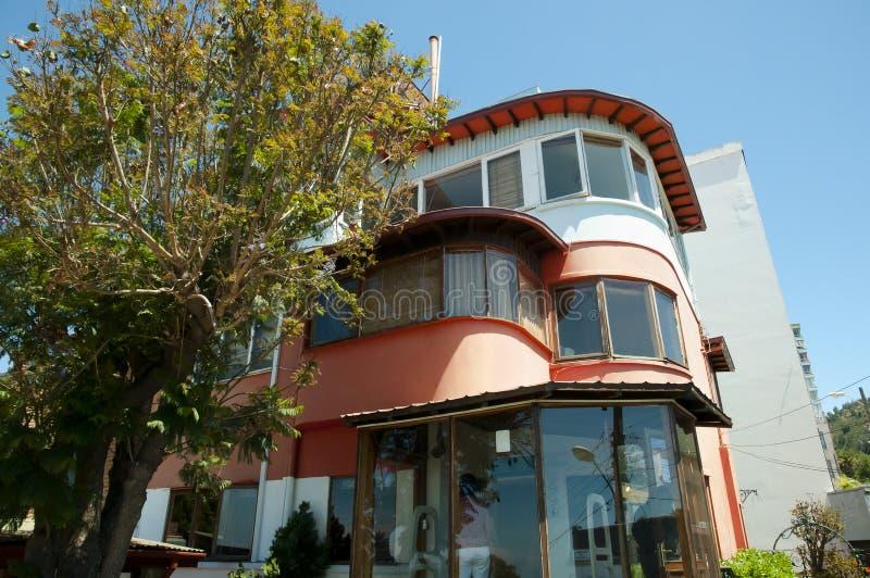 Poeta Pablo Neruda House - Valparaiso - Chile imagem de stock royalty free