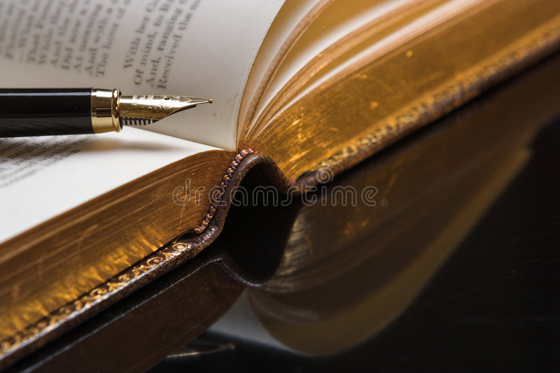 Poetry royalty free stock photography