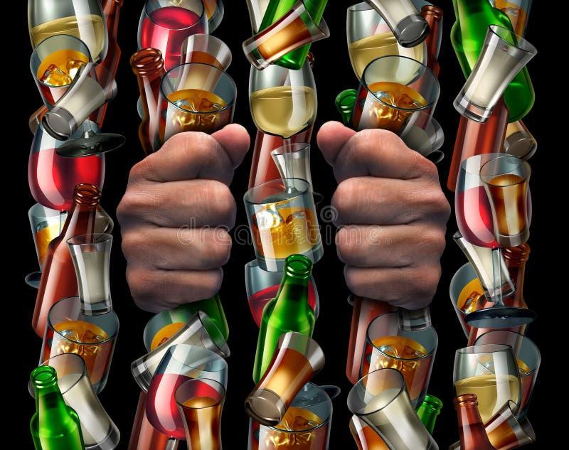 Poetsmiddel honderd zloty in een glas vector illustratie