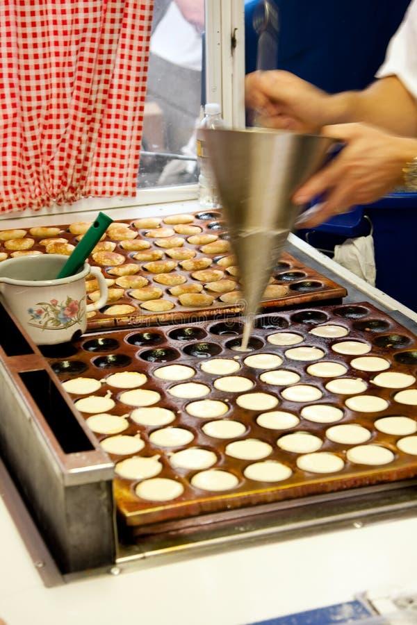 Poffertjes Minipfannkuchen