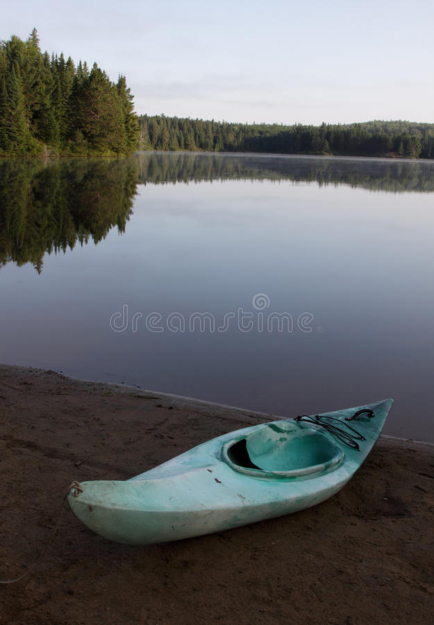 Pog Lake Kayak royalty free stock image