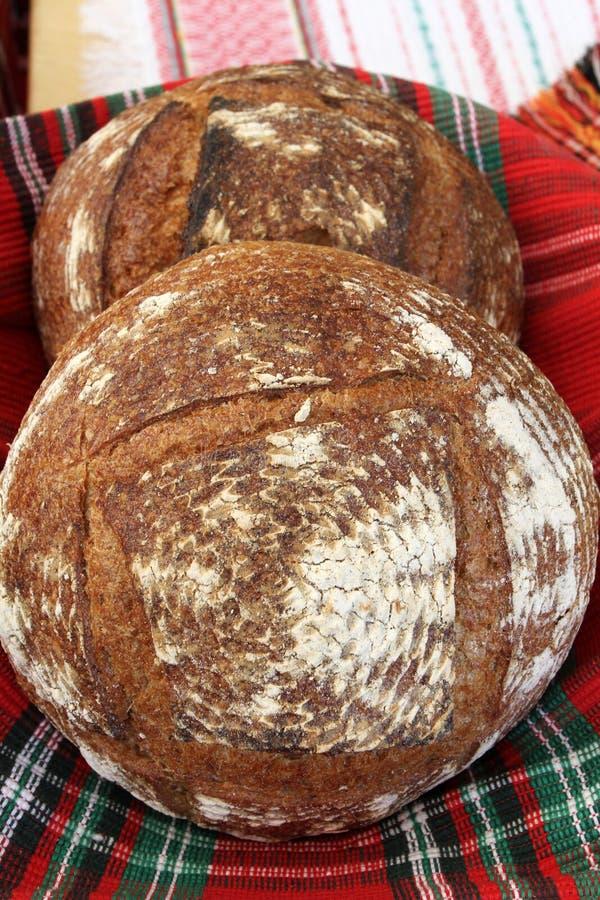 Pogacha, pogaca белый хлеб который традиционно подготовлен на праздники как пасха и рождество Хлеб испечен в t стоковое изображение rf