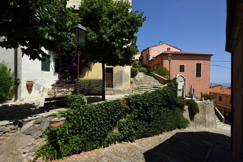 Poggio, Tuscany, Elba, Italy royalty free stock photo